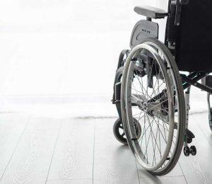 Elektrischer Rollstuhl von Nahe