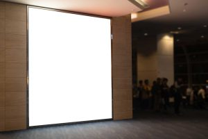 Übergroßes LED Panel