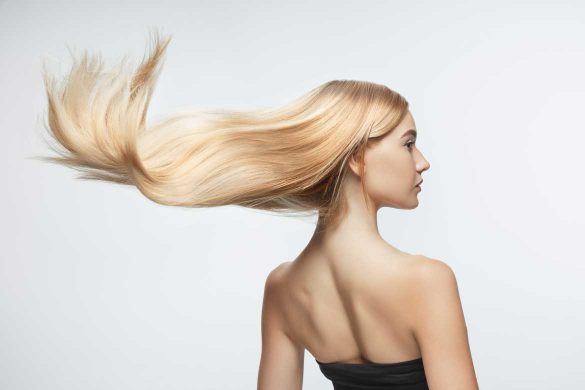 Silbershampoo für schönes, blondes Haar